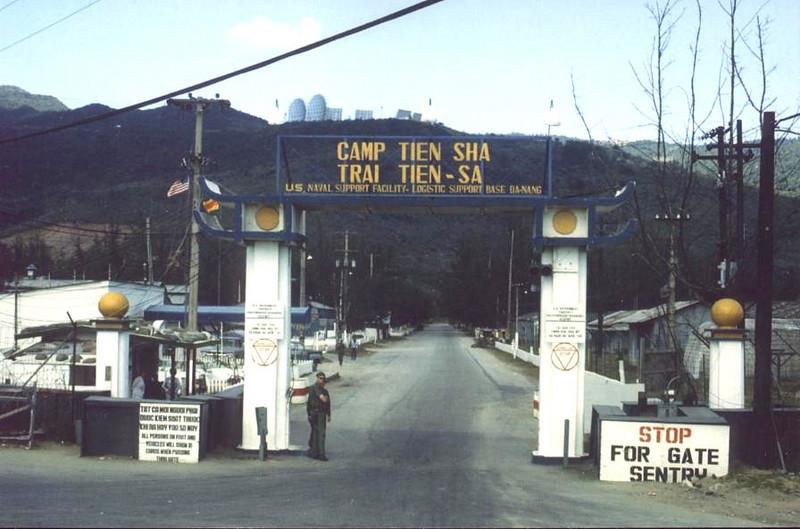 Camp Tien Sha Main Gate-Danang