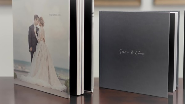 Wedding Albums are a must add on in photography collections