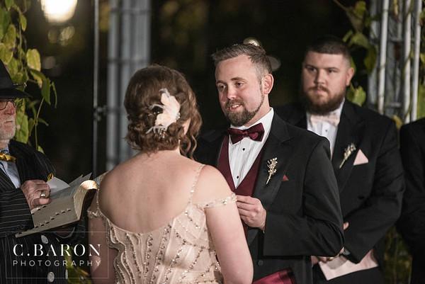 Great Gatsby styled New Year's Eve wedding at the historic Ashton Villa on Galveston Island Texas