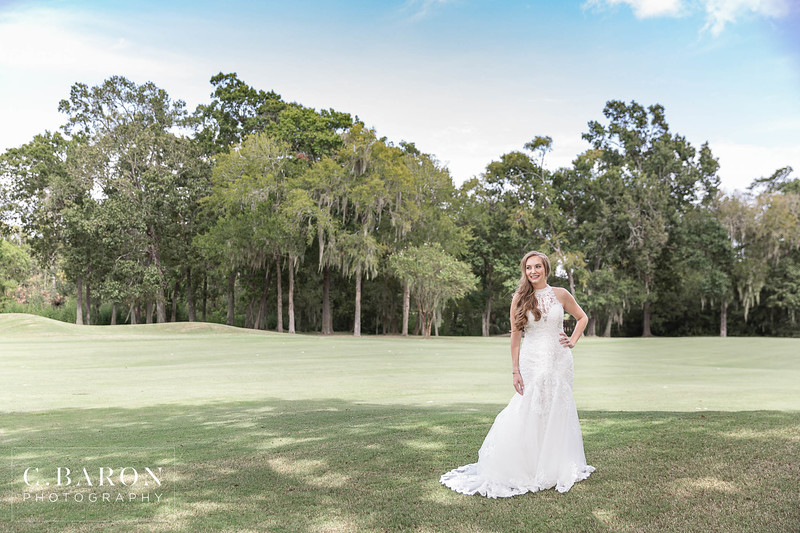 Gorgeous Summer Bridal Session at Bay Oaks Country Club in Houston, Texas
