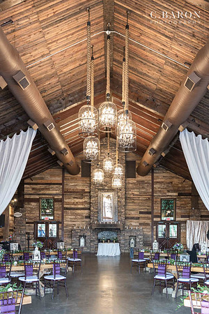 Pretty purple Fall wedding at Big Sky Barn in Montgomery, Texas