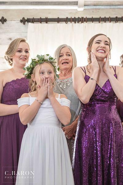 Pretty purple Fall wedding at Big Sky Barn in Montgomery, Texas