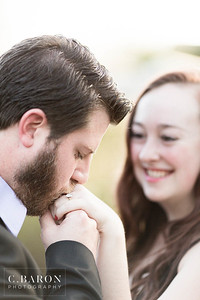 Pretty fall engagement session at Houston park