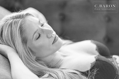 Gorgeous Boudoir session in studio in Houston Texas