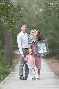 Pretty Fall Family mini photography session in Houston, Tx