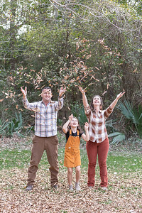 Christmas family mini portrait session in Houston, Texas