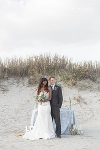 Soft and pretty wedding editorial inspired by Ariel in the Little Mermaid, a Walt Disney classic animated film.