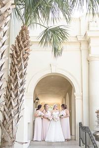 Elegant Wedding at Catholic church and reception at historic Hotel Galvez in Galveston Texas
