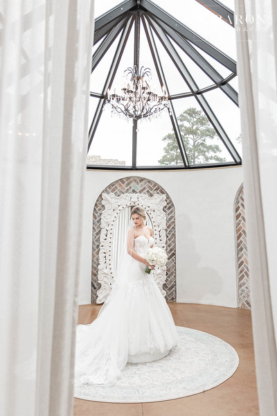 Stunning Iron Manor Bridal Session in Montgomery, Texas