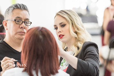 Make up class at The MUA Project in Houston Texas