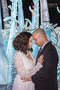 Pretty wedding couple shoot including christmas lights and installations in Houston Texas