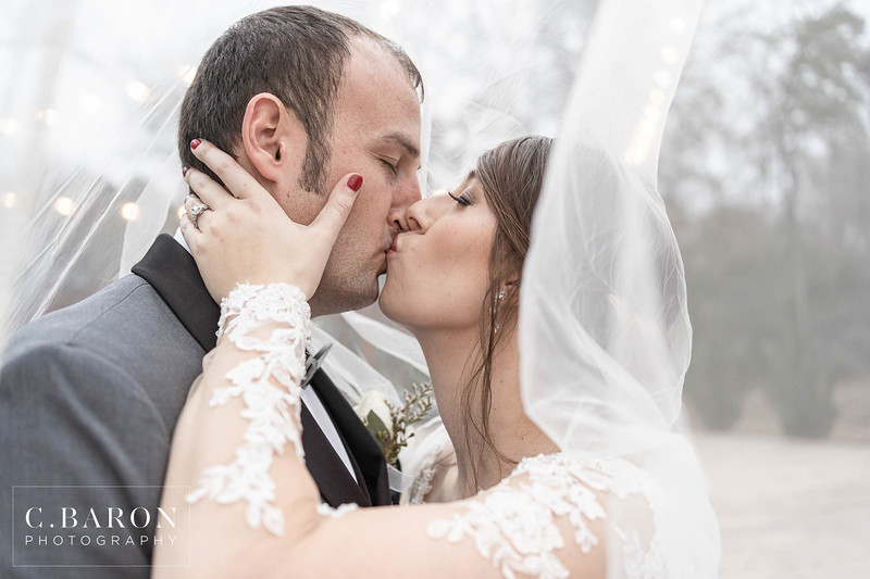 Stunning Winter Wedding at Magnolia Meadows in Magnolia, Texas