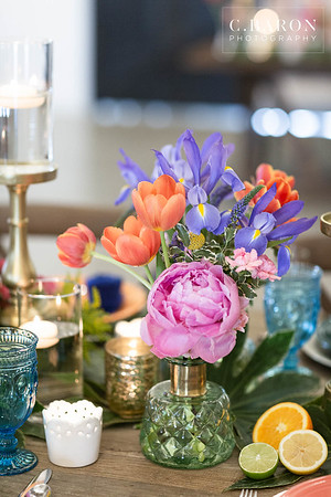 Pretty fiesta colored wedding inspiration at Still Waters Ranch in Alvin Texas