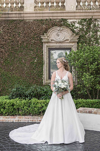 Elegant Spring bridal session at The Bell Tower on 34th in Houston, Texas