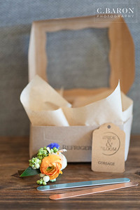 Pretty Blue & Orange Wedding inspiration at the Carriage House in Conroe Texas