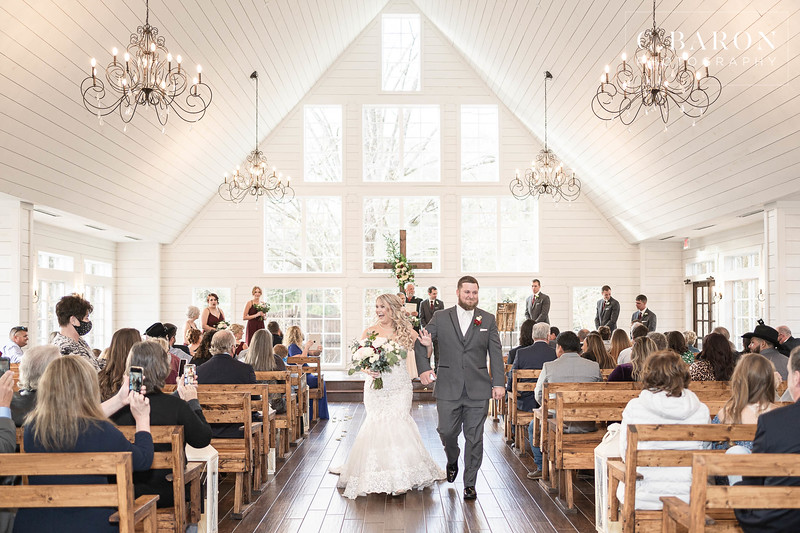 Gorgeous Winter Wedding at The Carriage House in Conroe, Texas