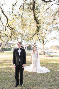 Gorgeous black tie intimate wedding at The Clubs at Houston Oaks in Houston, Texas