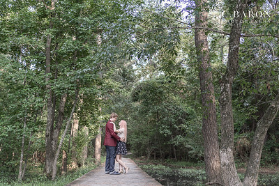 Fun Summer engagement session at a cute park in Cypress, Texas