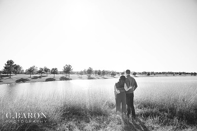 Pretty fall engagement session in Houston Texas