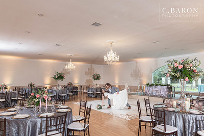 Whimsical forest wedding ceremony with a reception indoors - Wedding editiorial at A Thousand Oaks Events & Retreats