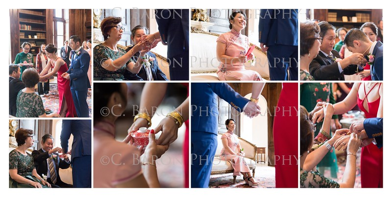 Beautiful wedding at Chateau Cocomar with Asian Traditions