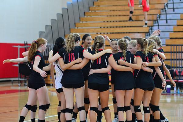 CCA Girls Volleyball 2014