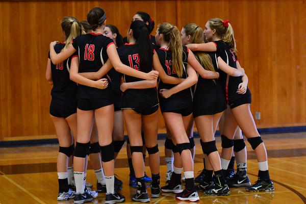 CCA Girls Volleyball 2015