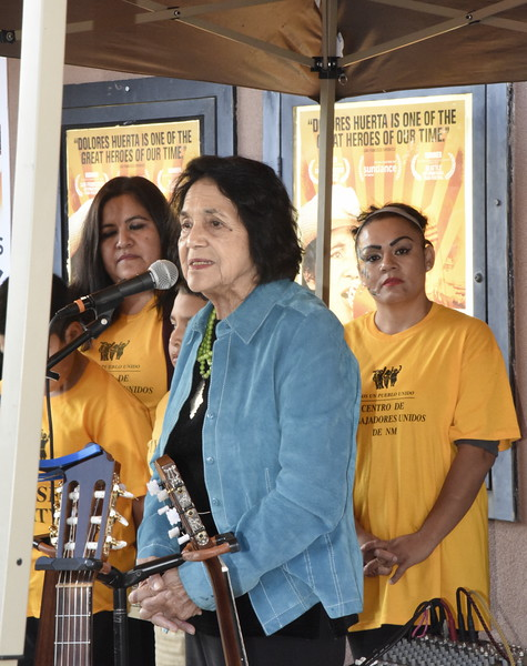 Dolores Huerta at CCA Celebration