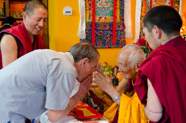 Meeting Rinpoche
