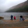 Misty Morning at Upper Lake in Glendalough
