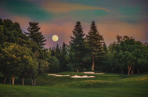 Full Moon - 90 Yards Out