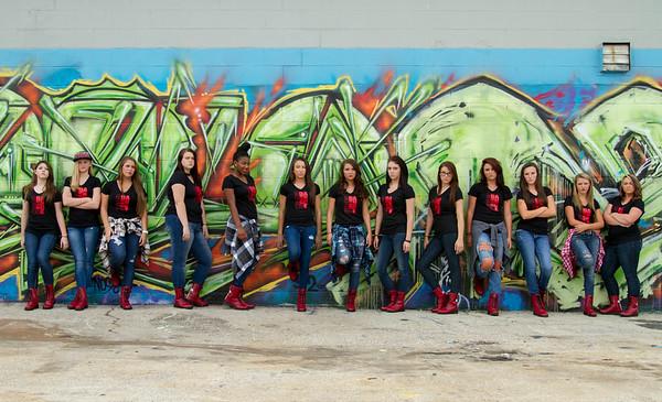 CCCHS Dance Camp photo shoot 6/26/14