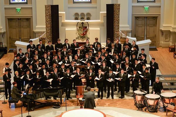 CCDA Honor Choir Concert 2018