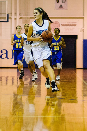 CCDS Girls Basketball January 7, 2011