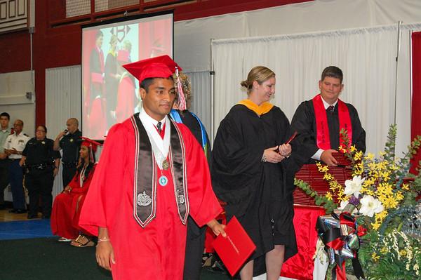 Clear Brook 2013 Graduation