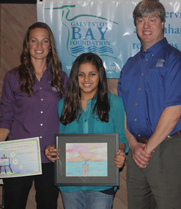 2013 Galveston Bay Children's Art Calendar Contest Awards Ceremony