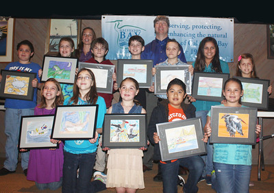 2013 Galveston Bay Children's Art Calendar Contest Winners