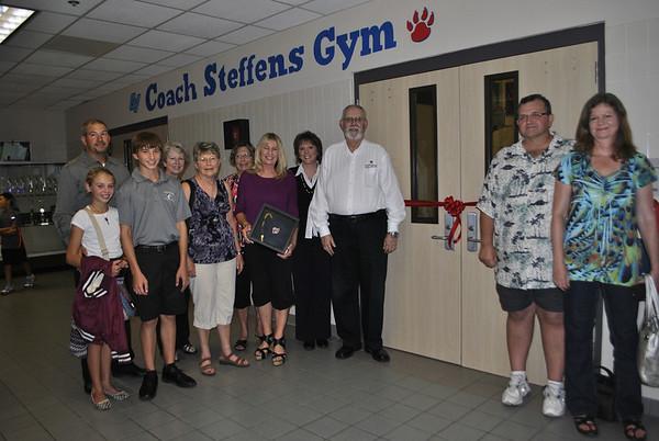 Wedgewood Gym Dedication