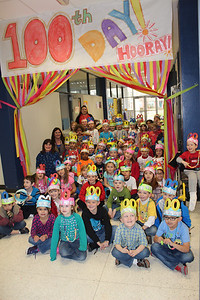 100th Day of School at Ed White Elementary