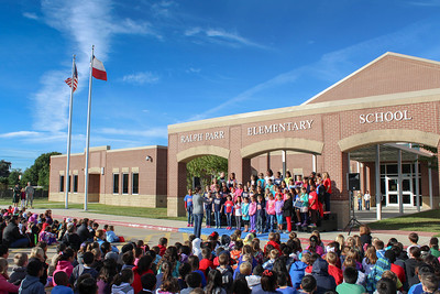 Veterans Day Ceremony at Ralph Parr Elementary
