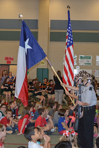 Veterans Day Ceremony at Mossman Elementary with Bayside Intermediate Band, Orchestra and Choir