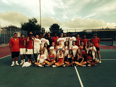 Clear Lake High School Tennis District Champs