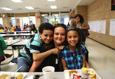 CCISD Holiday Meal Campus Celebration at McWhirter Elementary