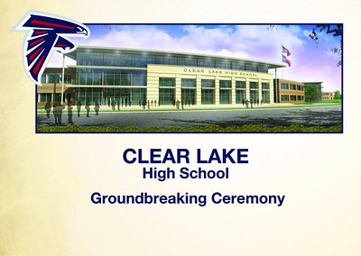 Clear Lake Groundbreaking Photo Booth