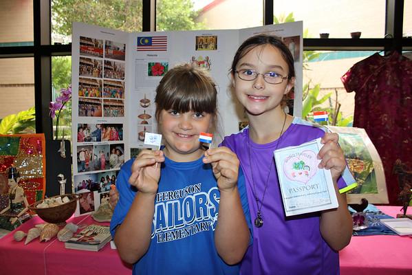 International Fair at Ferguson Elementary
