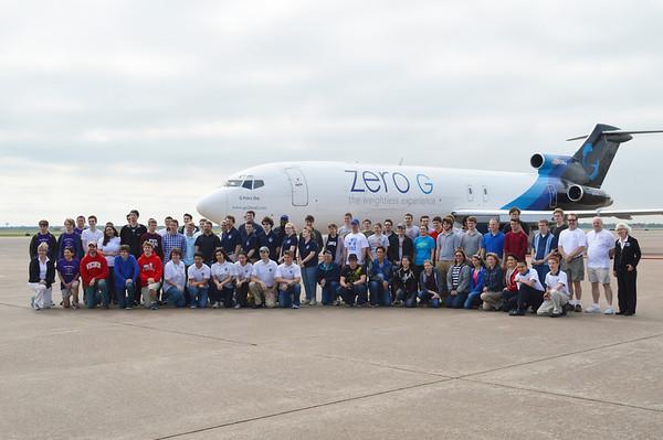 NASA HUNCH Program - Zero-G Flight