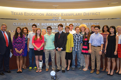 Clear Lake High School National Merit Scholars