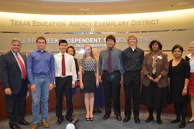 Clear Springs High School National Merit Scholars