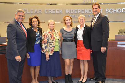 Clear Creek High School National Merit Scholars