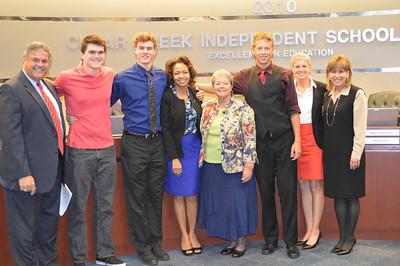 Clear Falls High School National Merit Scholars